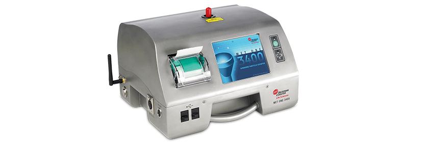 気中パーティクルカウンター(微粒子計測器)MET ONE 3400